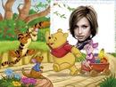 Child frame Winnie the Pooh