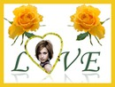 Heart Love Yellow roses ♥