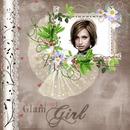 Album cover Glamour Girl Flowers