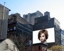 Reklame plakat scene bygning New York USA