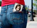 Foto scéna v kapse hýždí Žena