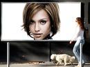 Woman Dog BIllboard