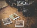 Bureau vintage Polaroid