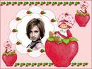 Child frame Strawberry Shortcake