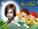 Children drawing Good night