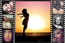 Movie filmstrip 7 photos