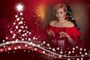 Stars in Christmas tree