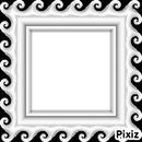 Montage photo cadre mariage noir et blanc pixiz for Cadre noir et blanc