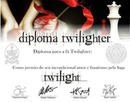 Diploma de fã Twilight