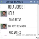 chat falso con jorge blancoo