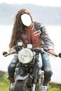 femme moto