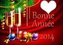 bonne annee coeur 2014