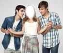 Thomas ,Violetta et Leon