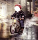 garçon moto