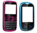 celular rosa y azul
