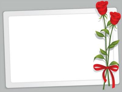 montage photo cadre de rose rouge pixiz. Black Bedroom Furniture Sets. Home Design Ideas
