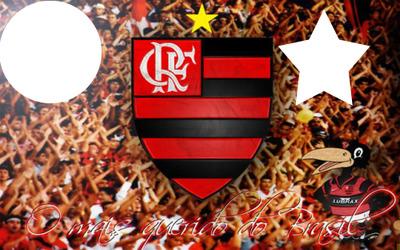 Fotomontagem Frase Flamengo - Pixiz